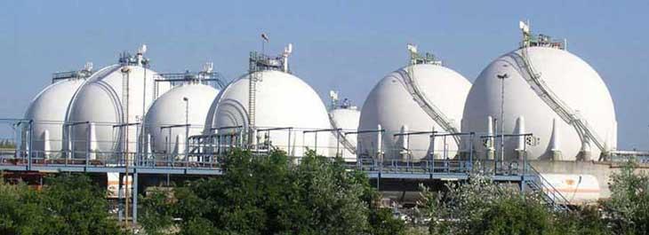 Sphere tanks