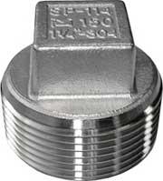 Threaded Square Head Plug