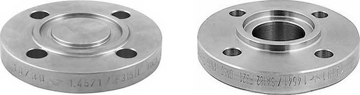 Flange Faces - Raised Face (RF), Flat Face (FF), Ring-Type