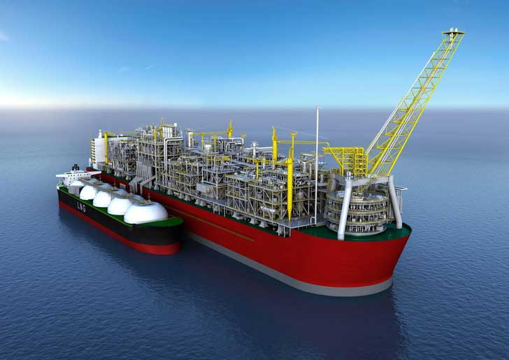 Shell's Floating Liquefied Natural Gas facility