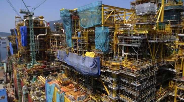 Shells FLNG facility