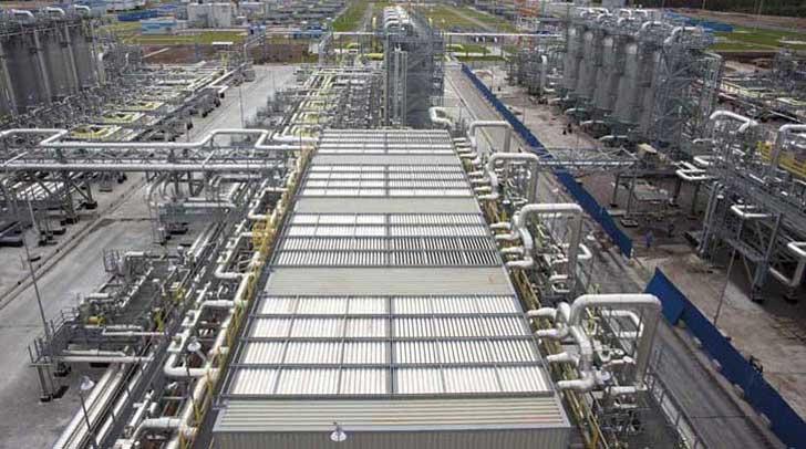 Gas Treatment Unit Portovaya