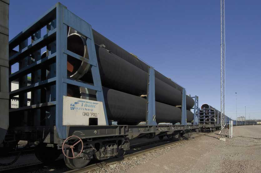 Last Pipes for Concrete Weight Coating in Kotka