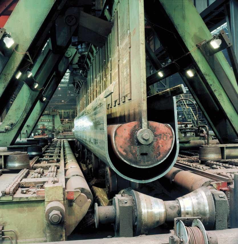Pipe production by EUROPIPE (U-ing press)