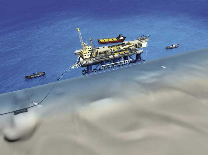 Pipelaying on the Seabed