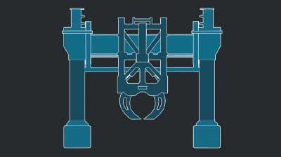 Pipe Handling Frame (PHF)