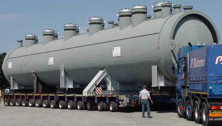 Large Titanium Clad pressure vessels