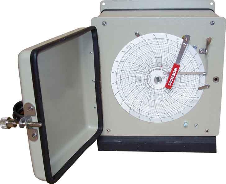 Pressure and Temperature recorder-reciever