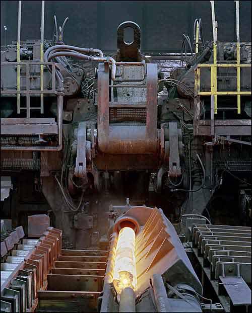 Plug mill process
