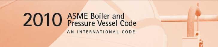 ASME Boiler and Pressure Vessel Code (BPVC)